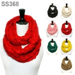 SS368 BUBBLE KNITTED INFINITY