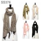 SS376 Designer's look Mesh Scarf