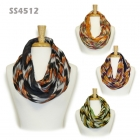 SS4512 Bold Color Artistic Chevron Infinity