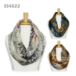 SS4522 Misty Animal Print Infinity