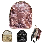 UBP7970B Sequin Mini Backpack