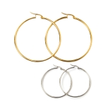 UER7212B Medium Size Hoop Earring (Dozen)
