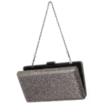 W3654 Both Side Stone Evening Clutch