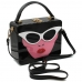 Y0280 Lady Face Acrylic Box Bag