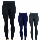 YL2001 Spandex Classic Solid Seamless Fleece Leggings
