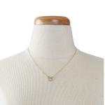 YN2681 Circle Rhinestone Necklace, Gold