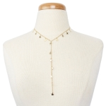 YN3132 Star Pendulum Single Line Necklace