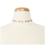 YN3146 Multi-Color Dangling Choker