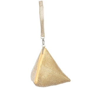 9150 Triangular Rhinestone Mini bag
