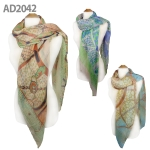 AD2042 Pattern Scarf