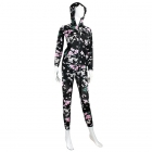 AO1147 Flower 2-pcs Track Suit