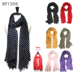 BF1208 Delight Polka Dot Scarf