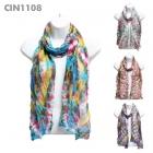CIN1108 Multi Tie-Dyed Scarf