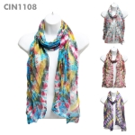 CIN1108 Multi Tie-Dyed Scarf