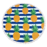 CM7006 Round Beach Towel Throw