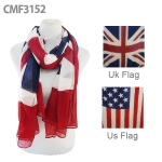 CMF3152 ational Flag Scarf US/UK