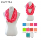 CMF3214 Solid color Infinity Scarf