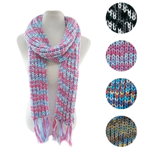 CMF5005 Chunky Cable Knit Scarf