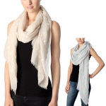 CS7007 Eiffel Towel and Dots Scarf