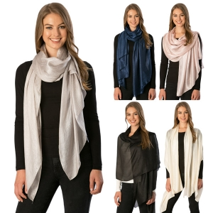 CS7071 Solid Oblong Scarf