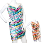 DS684 Back beach Cover-up dress w/adjustable loop