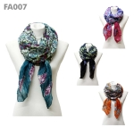 FA007 Bohemian Tie Dyed Scarf