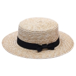 FH035A Straw Boater Hat