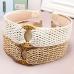 FH040 Boho Chic Straw Headband - Natural