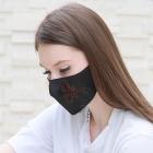 MFM-001 Rhinestone Studded Resuabel Mask #5