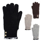 G4128 Winter Double Layer Button Gloves