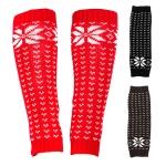 JBS0004 Snowflake Pattern Leg Warmer
