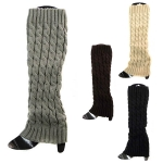 JBS0021 Cable Knitted Leg Warmer