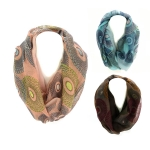JF0026 Circled Pattern Scarf