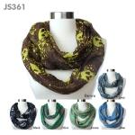JS361 Skull Infinity Scarf