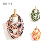 kk148 Zig Zag with Diamond Print Infinity
