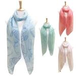 LOF108 Cosmetic pattern scarf