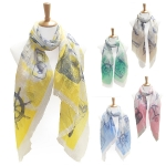 LOF114 SEA OBJECT SCARF