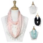 LOF116 Cotton Lace Infinity