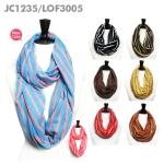 JC1235/ LOF3005/ SS326 Jolly Infinity Scarf