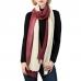 LOF559 Two Tone Tie Dye Crinkle Oblong Scarf