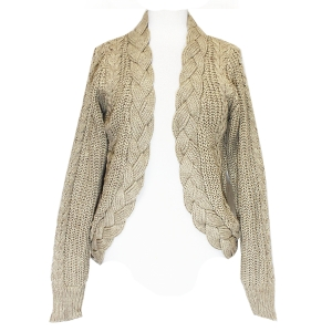 SW006(NT006) Knit Cable Swater