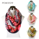 PCW3729 Multi Lace & Dot Pattern Infinity