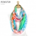 PCW3729 Splatter Color Dot Infinity Scarf