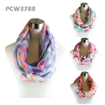 PCW3788 Colorful Modern Chevron Infinity