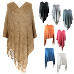 POH3964 Basic Oversized Poncho