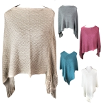 POH4050 Metallic Design Poncho