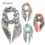 PP4040 MULTI STRIPED SCARF