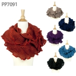 PP7091 Ruffle Sparkle Infinity Scart