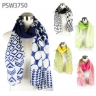 PSW3750 Multi Pattern Block Scarf