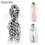 PSW7409 Big Polka Dot Scarf